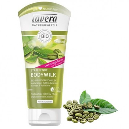 Lotiune de corp pentru fermitate cu boabe de cafea verde, 200 ml