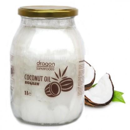 Ulei de cocos extravirgin BIO Raw, 1 litru