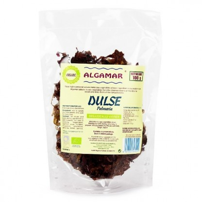 Alge dulse raw bio 100g Algamar