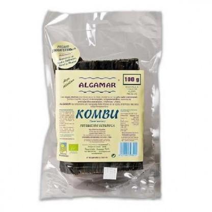 Alge Kombu (Laminaria) raw bio 100g Algamar