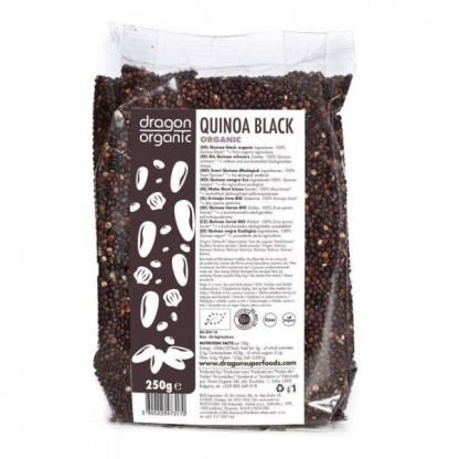 Quinoa neagra BIO 250g Dragon Superfoods