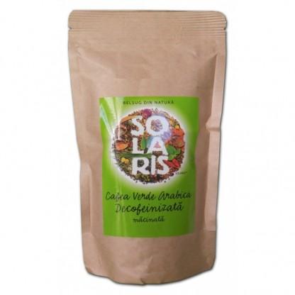 Cafea verde Arabica Decofeinizata Macinata 100g Solaris