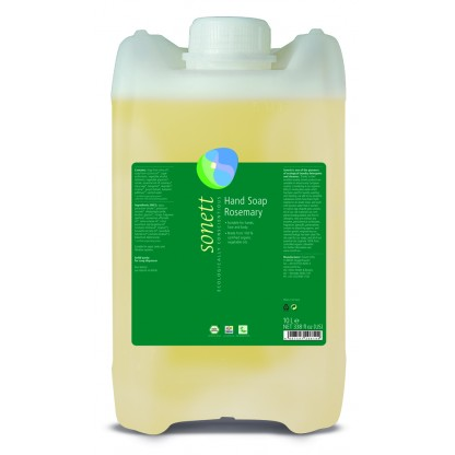 Sapun lichid ecologic Rozmarin 10L Sonett