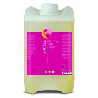 Sapun lichid ecologic trandafiri 10L Sonett