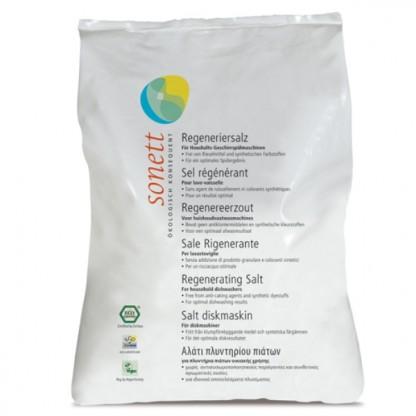 Sare regeneranta ecologica pt. masina de spalat vase 2kg Sonett