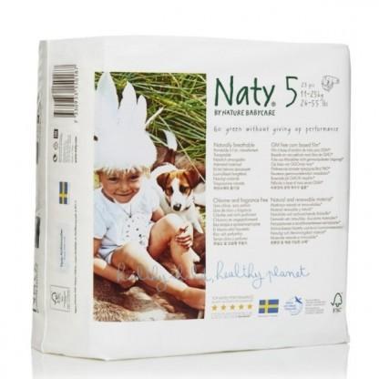 Scutece ECO Naty Nr 5 pt 11-25kg 23buc