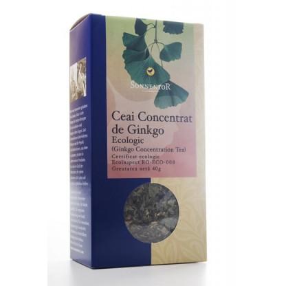 Ceai ginkgo pentru concentratie ECO 50g Sonnentor