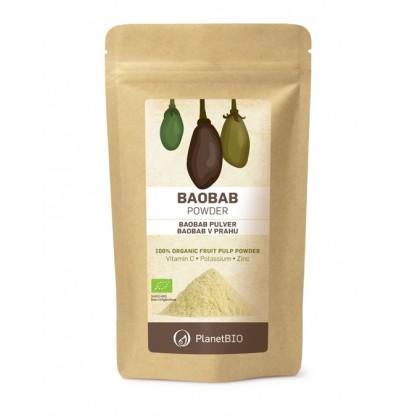 Baobab pulbere organica 150g Planet BIO
