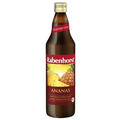 Suc Extract Direct din Ananas 750ml Rabenhorst