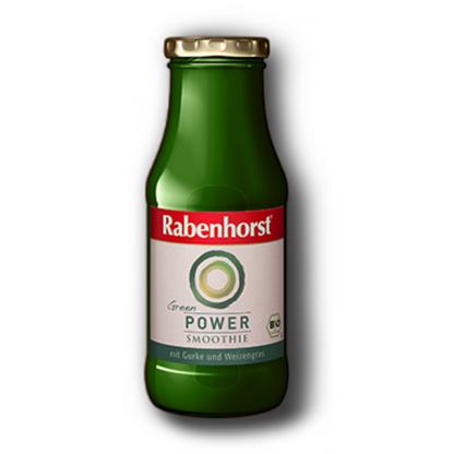 Green Smoothie POWER cu Iarba de Grau, Castravete Spirulina Rabenhorst