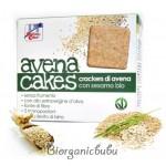 Crackers din ovaz cu susan BIO fara drojdie, produs vegan, 250 g