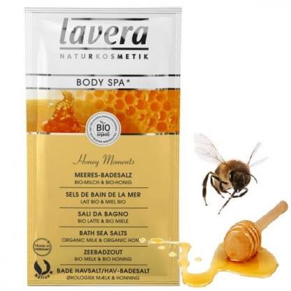 Sare de baie Honey Moments cu lapte si miere 80g