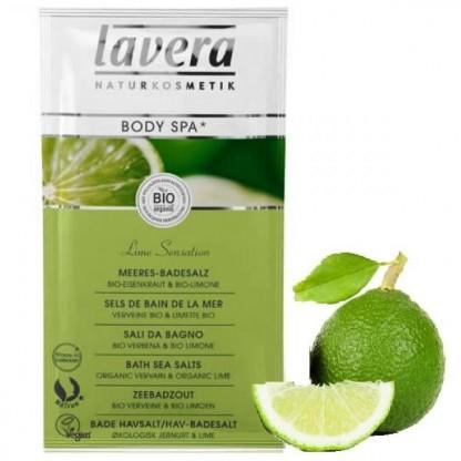 Sare de baie Lime Sensation cu lime si verbina 80g