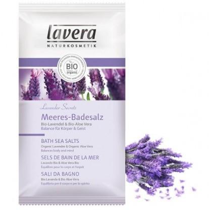 Sare de baie BIO Lavender Secrets cu lavanda si aloe, 80 g