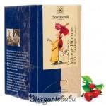 Ceai ecologic de macese si hibiscus, 18 pliculete