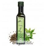 Ulei Virgin Nerafinat din Seminte de Canepa BIO, 250 ml
