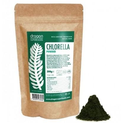 Chlorella pulbere organica, 200 g