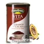 Fulgi (Boabe pisate) Neprajiti si Nefermentati de Cacao BIO 200g Naturgreen