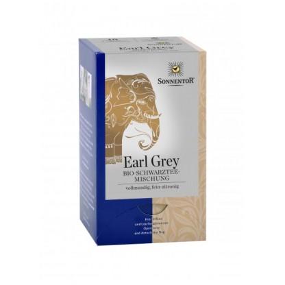 Ceai Negru Earl Grey ecologic 18 pliculete Sonnentor