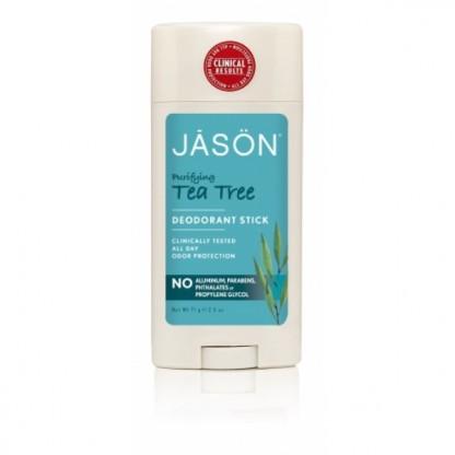 Deodorant natural stick Jason cu tea tree antibacterian 75g