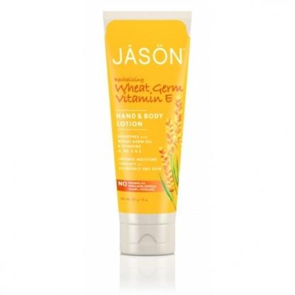 Crema hidratanta Jason cu vitamina E pentru maini si corp pt piele matura 240g