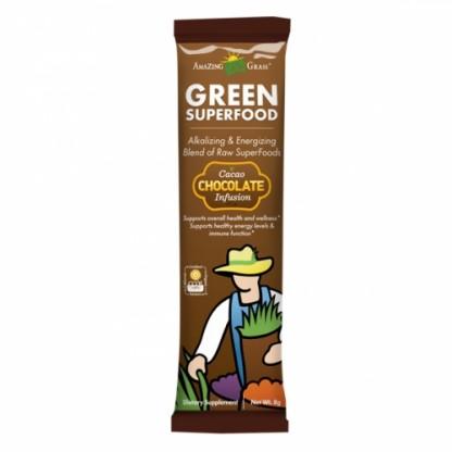 Bautura din iarba de grau Amazing Grass Ciocolata pentru copii 1 portie
