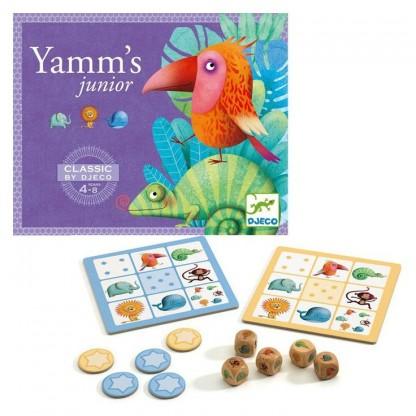 Joc de strategie Yams Djeco, 4-8 ani
