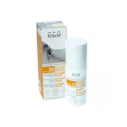 Gel facial transparent cu protectie solara inalta FPS 30 Eco Cosmetics 30ml