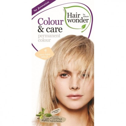 COLOUR CARE vopsea permanenta fara amoniac Very Light Blond 9 Hairwonder