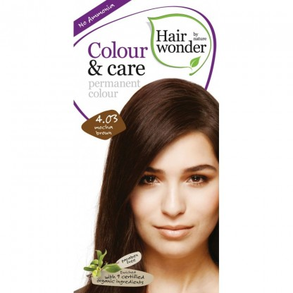 COLOUR CARE vopsea permanenta fara amoniac Mocha Brown 4.03 Hairwonder