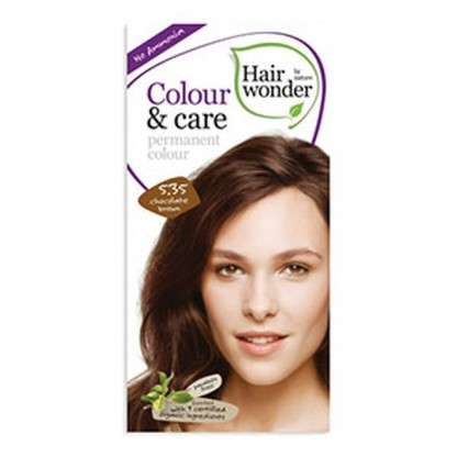 COLOUR CARE vopsea permanenta fara amoniac Chocolate Brown 5.35 Hairwonder