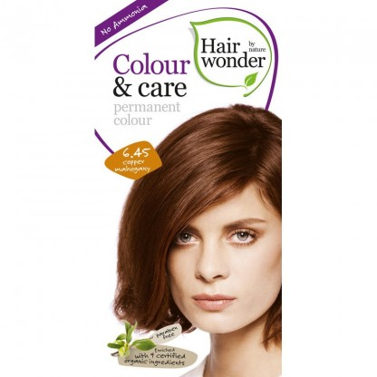 COLOUR CARE vopsea permanenta fara amoniac Cooper Mahogany 6.45 Hairwonder