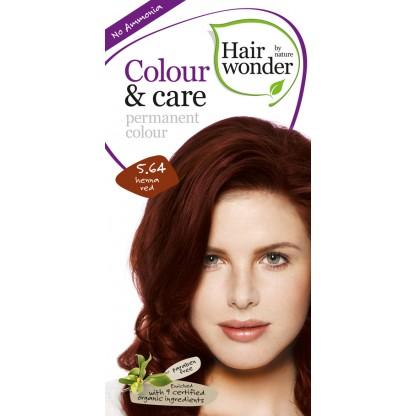 COLOUR CARE vopsea permanenta fara amoniac Henna Red 5.64 Hairwonder
