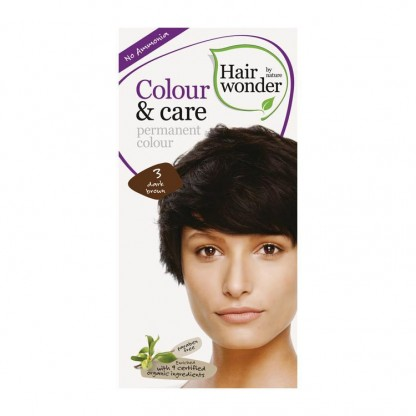 COLOUR CARE vopsea permanenta fara amoniac Dark Brown 3 Hairwonder