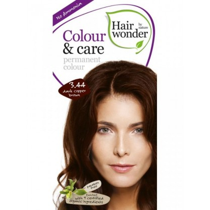 COLOUR CARE vopsea permanenta fara amoniac Dark Copper Brown 3.44 Hairwonder