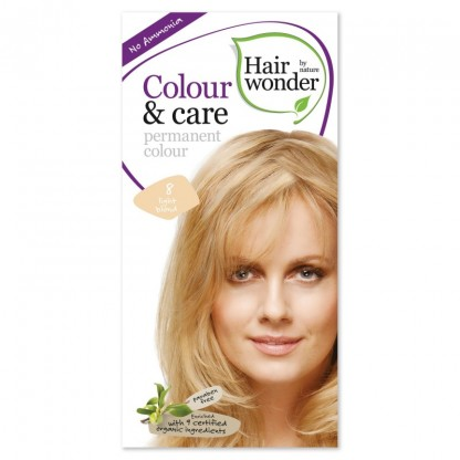COLOUR CARE vopsea permanenta fara amoniac Light Blonde 8 Hairwonder