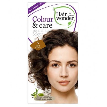 COLOUR CARE vopsea permanenta fara amoniac Light Brown 5 Hairwonder