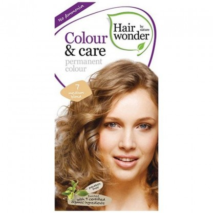 COLOUR CARE vopsea permanenta fara amoniac Medium Blond 7 Hairwonder