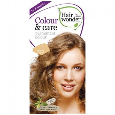 COLOUR CARE vopsea permanenta fara amoniac Medium Blond 7 Hairwonder