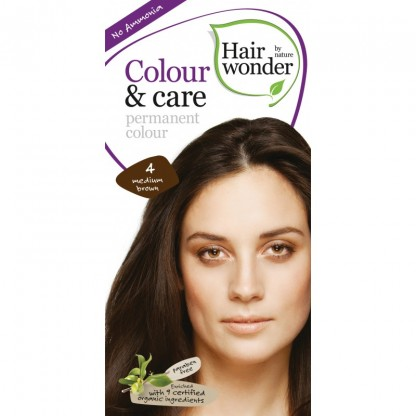 COLOUR CARE vopsea permanenta fara amoniac Medium Brown 4 Hairwonder
