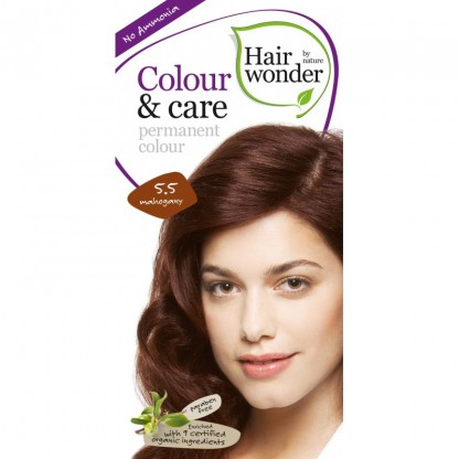 COLOUR CARE vopsea permanenta fara amoniac Mahogany 5.5 Hairwonder