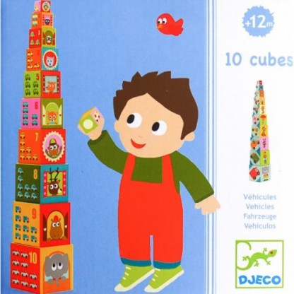 Turn de construit Djeco Masini, de la 1 an