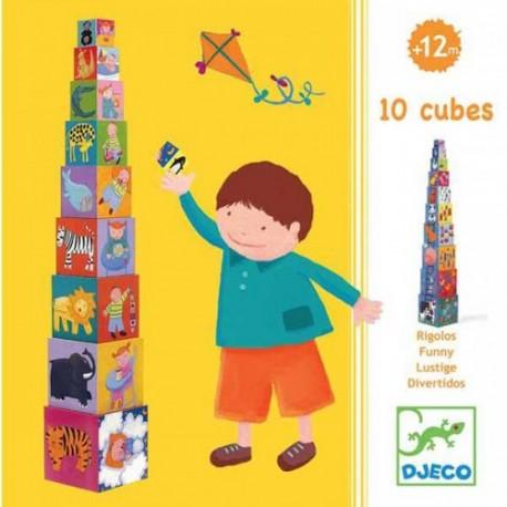 Turn de construit Djeco Scara, de la 1 an