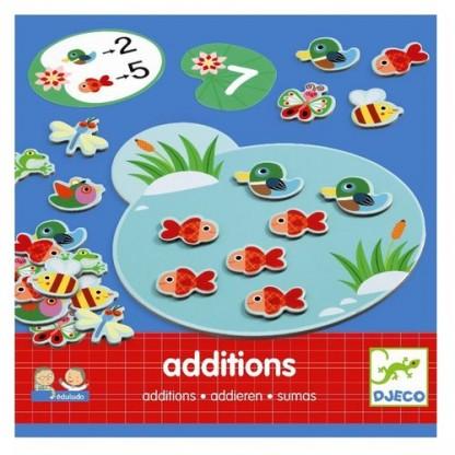 Eduludo Addition Djeco joc cu calcule de la 4 ani