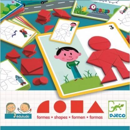 Eduludo Djeco forme geometrice 3-6 ani