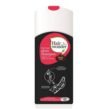 Sampon GLOSS pentru parul negru 200ml Hairwonder