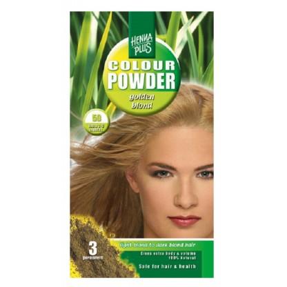 Pudra Henna Golden Blonde 50 HennaPlus 100g