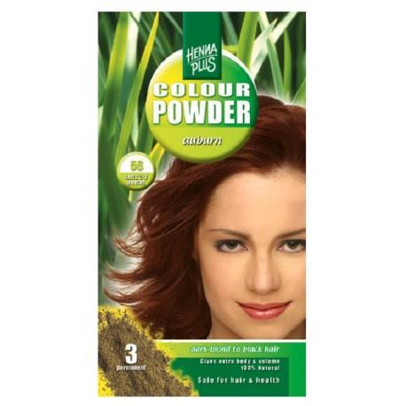 Pudra Henna Colour Powder Auburn 56 HennaPlus 100g