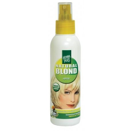 Spray pentru parul blond cu musetel 150ml HennaPlus