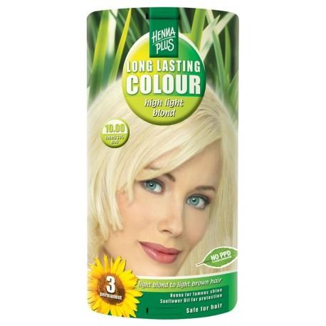 Vopsea de par Long Lasting Colour High Light Blond 10.00 HennaPlus